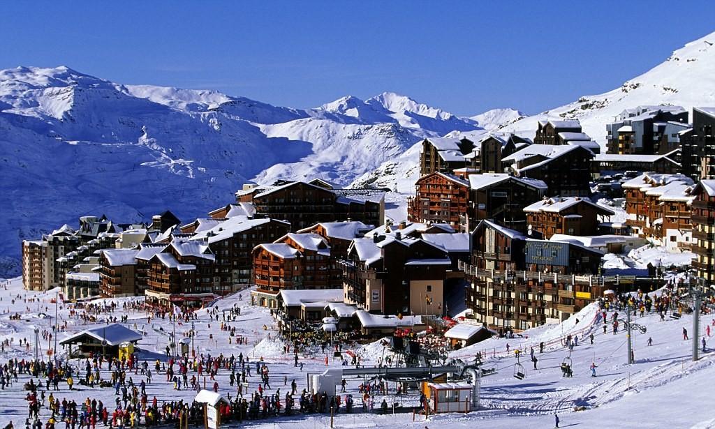France, Savoie, Val Thorens, Trois Vallees Ski Resort