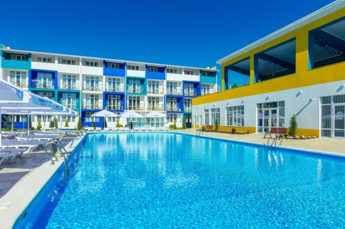 Анапа, MoreLeto Ultra All Inclusive Hotel 4*