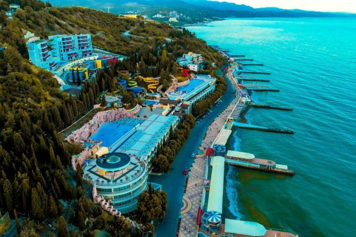 Крым, отель Миндальная роща 4*