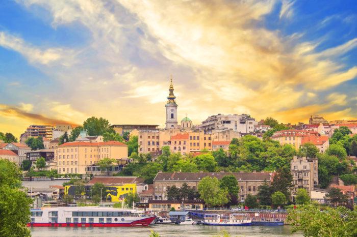 Белград, отель Hotel Argo 3* завтраки